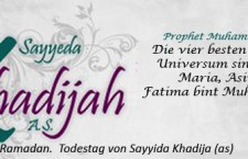 Todestag Sayida Khadija (as)