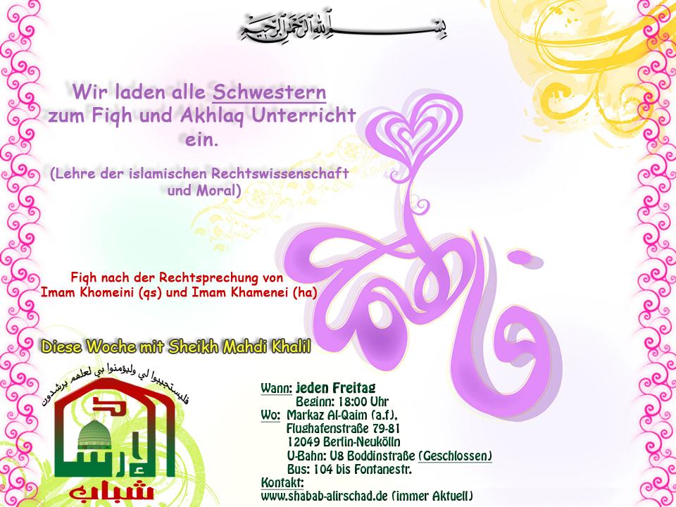 Fiqh und Akhlak für Schwestern