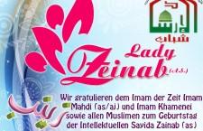 Glückwünsche an Sayida Zainab