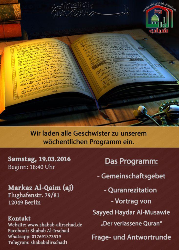 Samstagsprogramm KW11